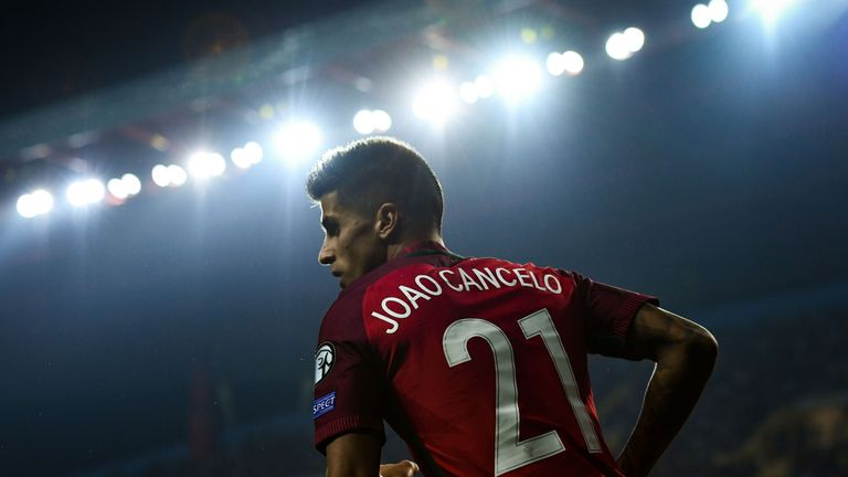 Cancelo featured for Portugal U21s at the European Championships this summer