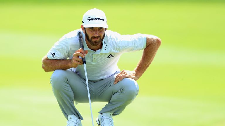 Dustin Johnson recovered from a poor start to reach nine under