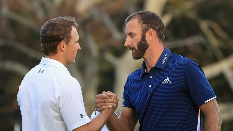Spieth and Johnson made up the final group in New York
