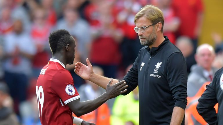 "Sadio Mane believes Liverpool are moving the ""right direction"" after a number of difficult years"