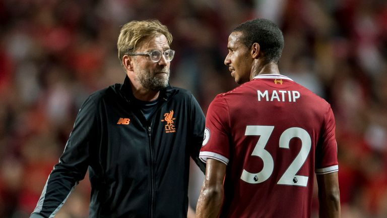 Jurgen Klopp questioned whether there are five defenders available that could improve Liverpool's squad