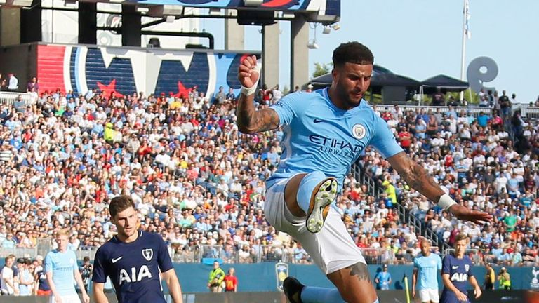 Kyle Walker left Spurs for Manchester City earlier this summer