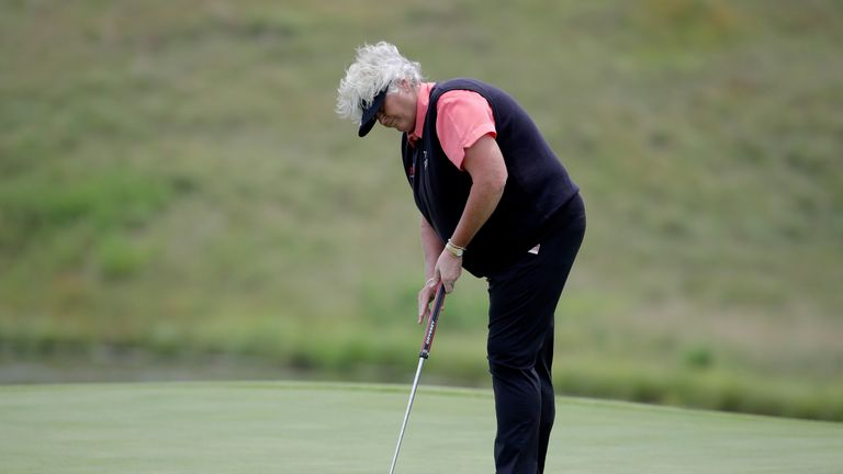 Davies is looking forward to to competing with men at the Shipco Masters in Denmark