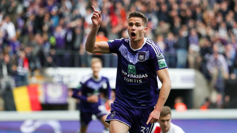 Leander Dendoncker is one of several central midfielders West Ham have targeted in the January transfer window