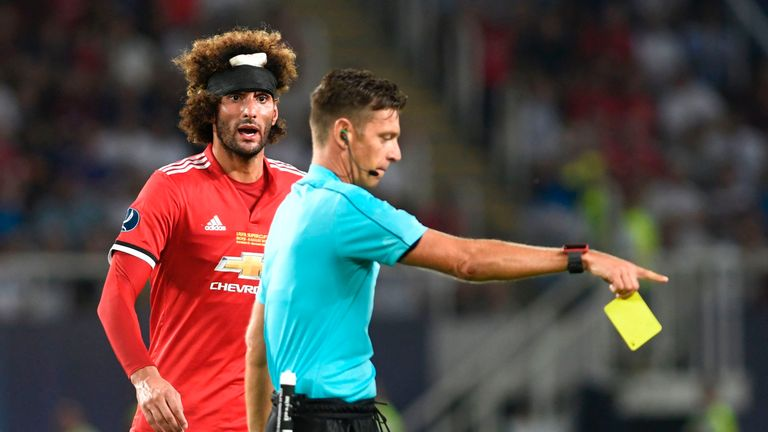 Marouane Fellaini impressed after coming off the bench