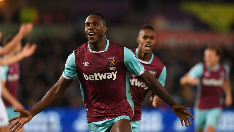 Michail Antonio of West Ham United is expected to only miss one game with a groin injury