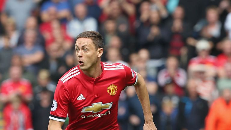 Nemanja Matic has played in all seven of Manchester United's Premier League games since joining from Chelsea for £40m