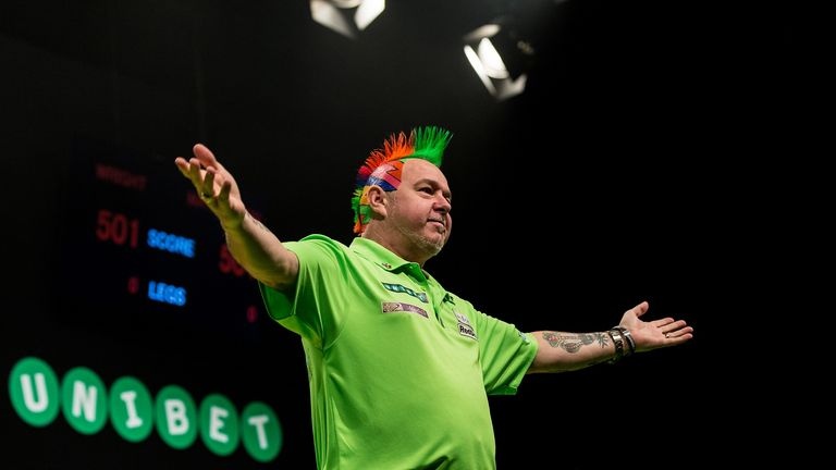 Peter Wright became just the fourth man in history to win 10 PDC titles in a year after his success in Germany (Tim Murdoch/PDC)