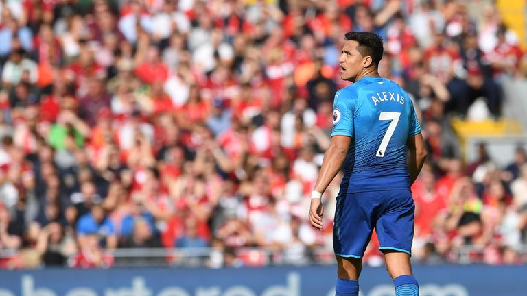 Manchester City bid £60m for Alexis Sanchez on Deadline Day but the move broke down after Arsenal failed to find a replacement