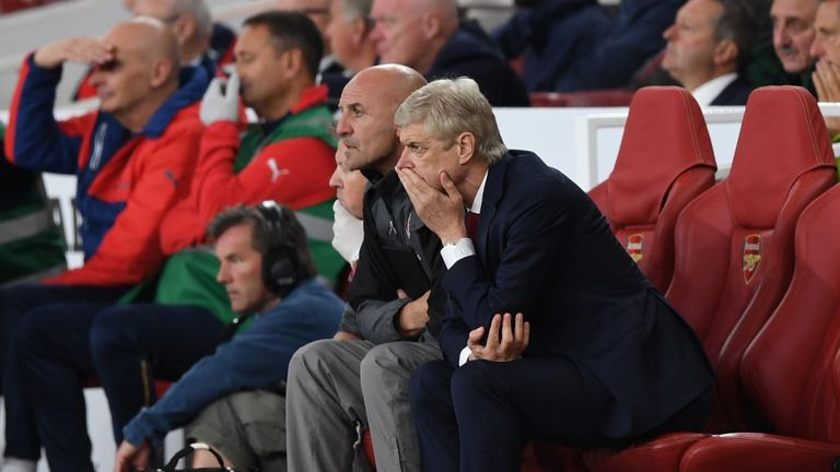 Wenger's Arsenal have three points from their first two games