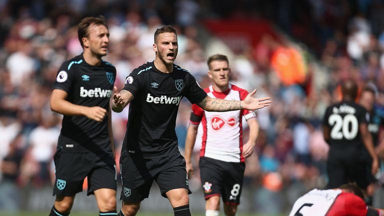 Marko Arnoutovic returns for West Ham at West Brom