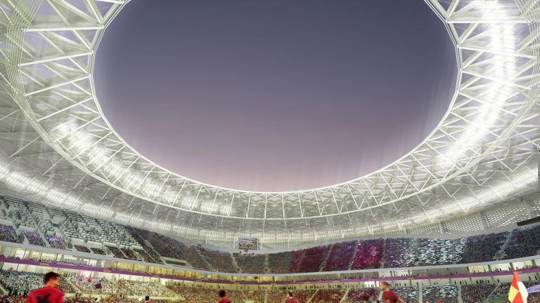 Computer-generated artist s impression of Qatar 2022 World Cup venue 103cf1bfc