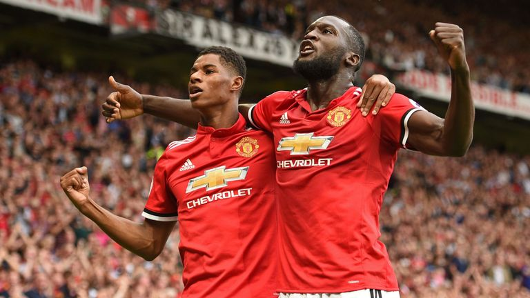 Romelu Lukaku and Marcus Rashford have been in scintillating form for United this season