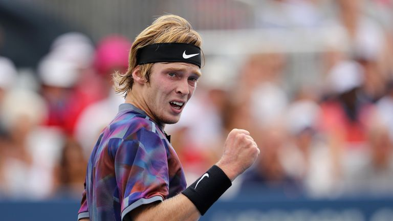 Andrey Rublev excelled at this year's US Open