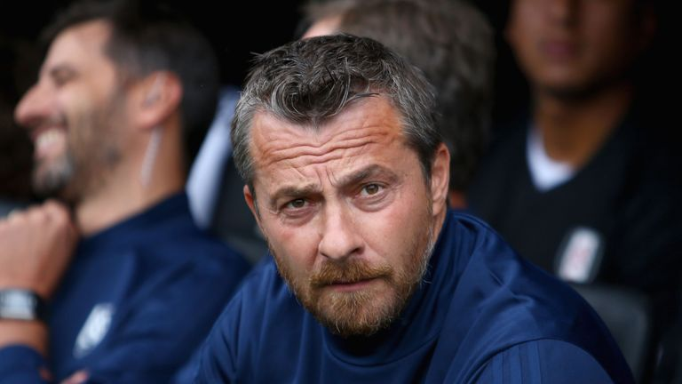 Slavisa Jokanovic prior to the pre-season Friendly between Fulham and VfL Wolfsburg at Craven Cottage