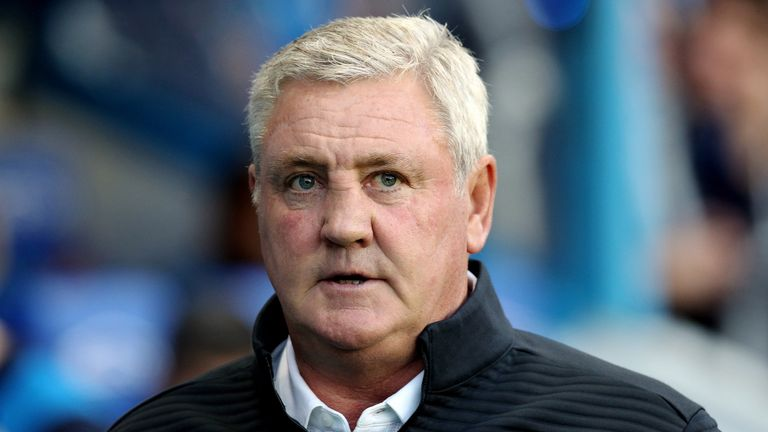 Steve Bruce says he 'sincerely' hopes he will be given time to turn around Aston Villa's fortunes