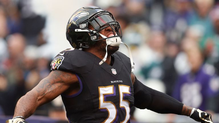 Reynolds believes Ravens' outside linebacker Terrell Suggs will be a big hit with British fans in week 3 of the new season
