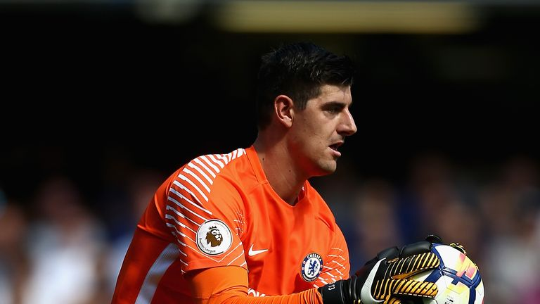 Courtois has just one year left on his current Chelsea deal