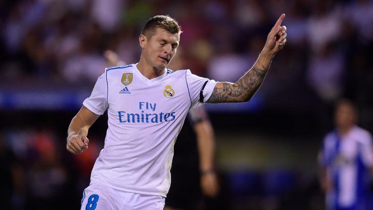 Toni Kroos scored Real's third goal