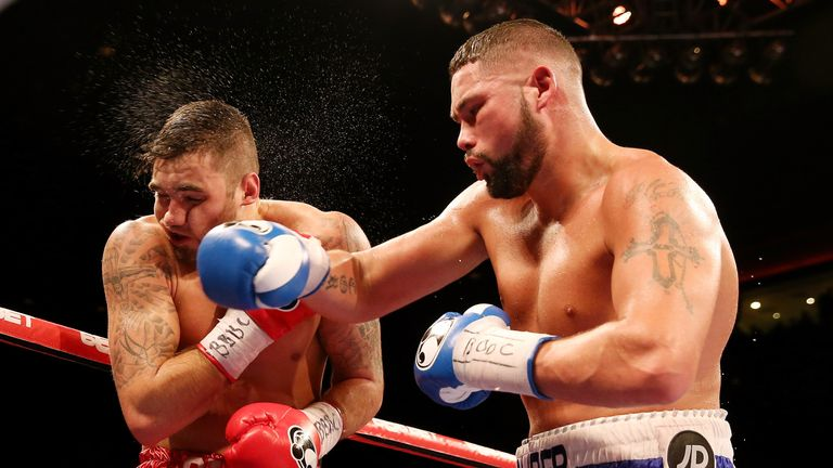 'The Bomber' tested Cleverly's punch resistance in their two fights