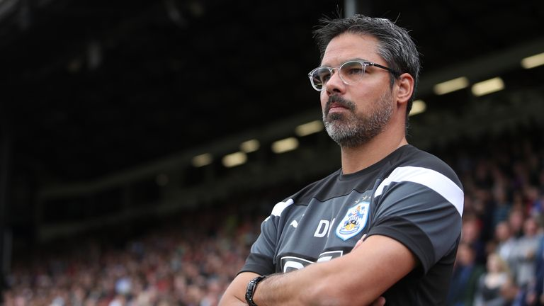 David Wagner saw his side stroll to victory