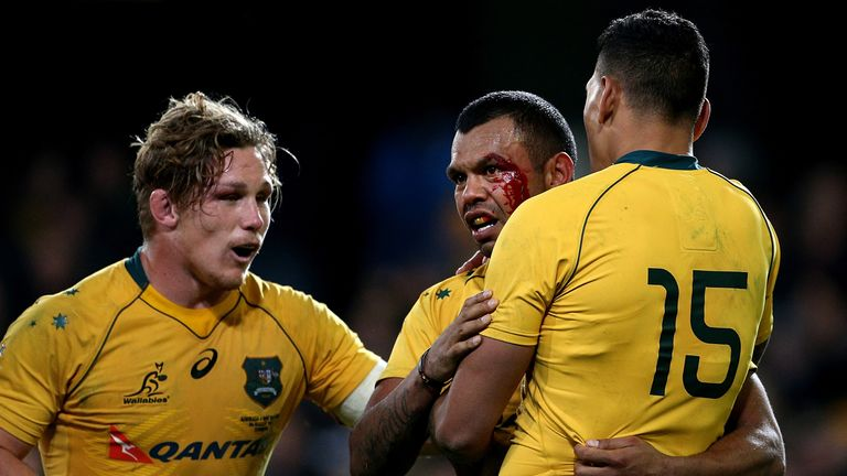 Kurtley Beale almost gave the Wallabies an important win