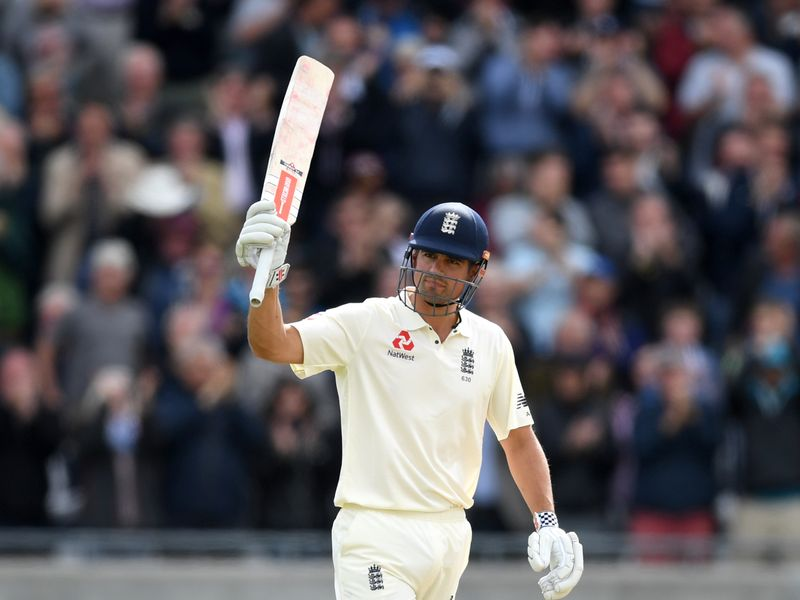 Cook pushed on past 200 on day two