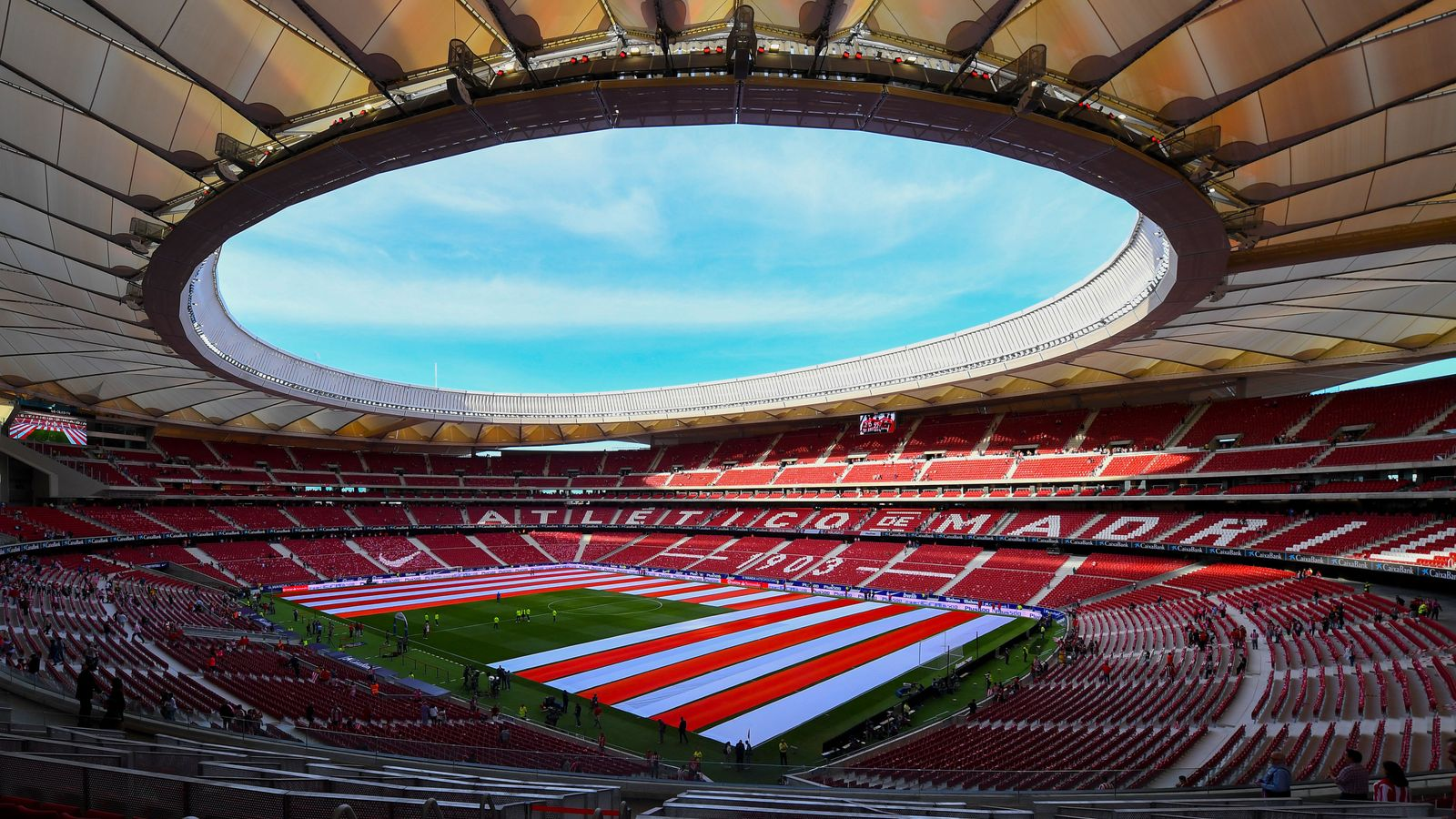 Atletico Madrid's Wanda Metropolitano stadium to host the