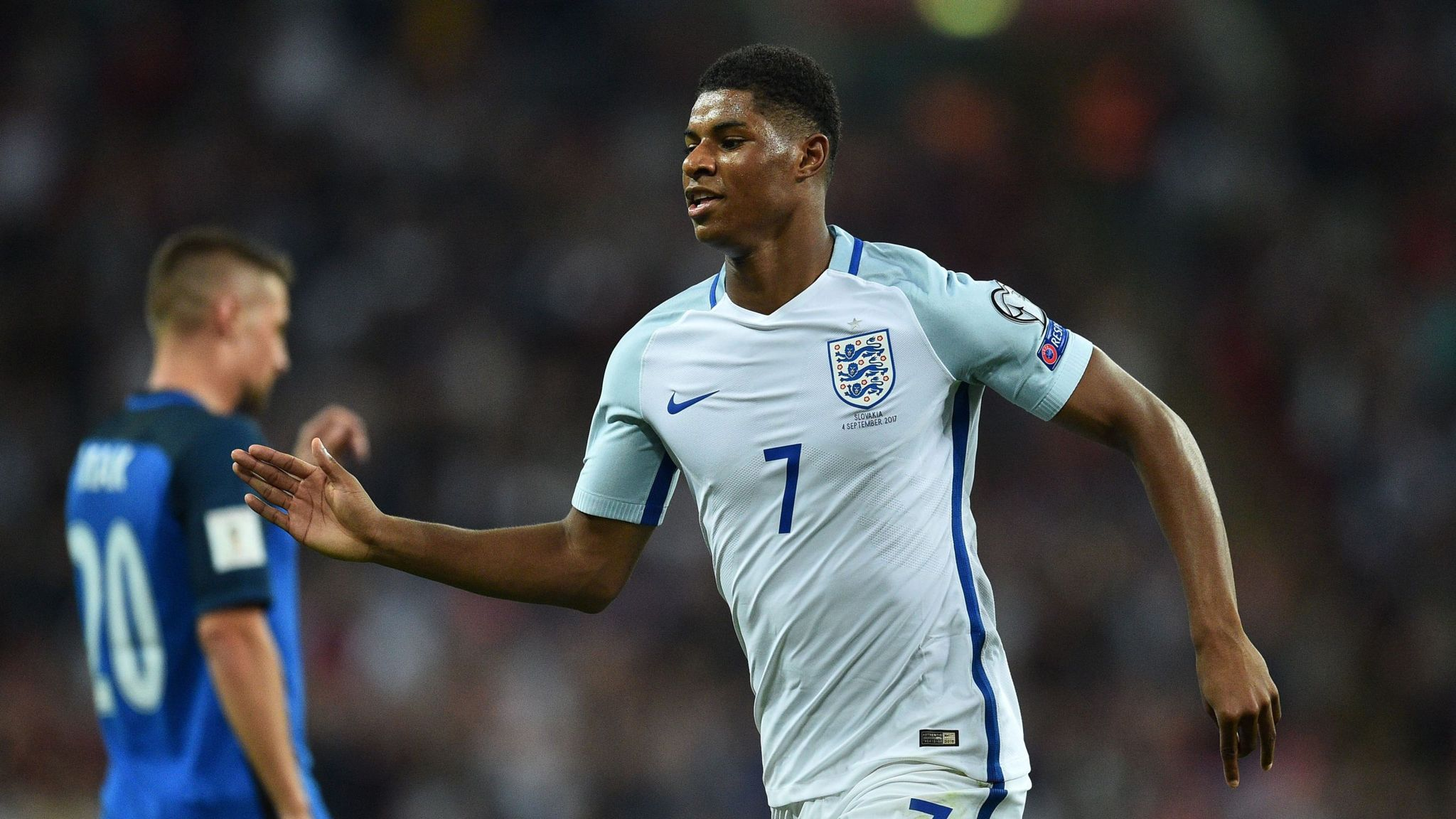Jermain Defoe Says Sky Is The Limit For Marcus Rashford Football News Sky Sports