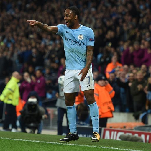 Sterling caps City win over Shakhtar
