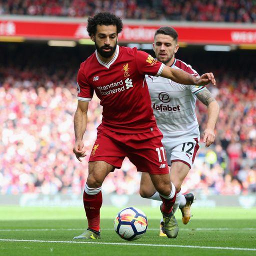 Liverpool held by Burnley