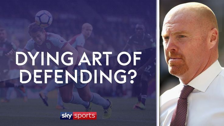 Sean Dyche has spoken of the dying art of defending but Burnley players such as James Tarkowski still have the basics.