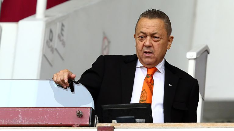 Sporting Lisbon are unhappy with claims made by David Sullivan of West Ham