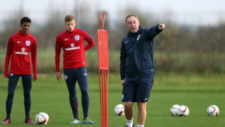 Cooper has worked as England U17s boss for four years