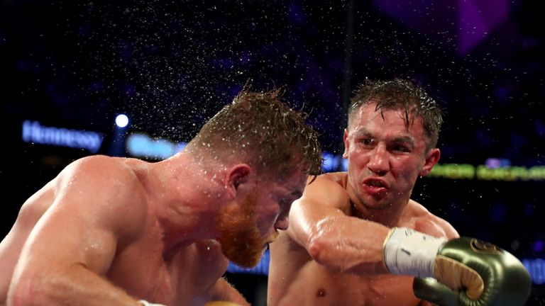 Gennady Golovkin and Canelo Alvarez fought to a draw last year
