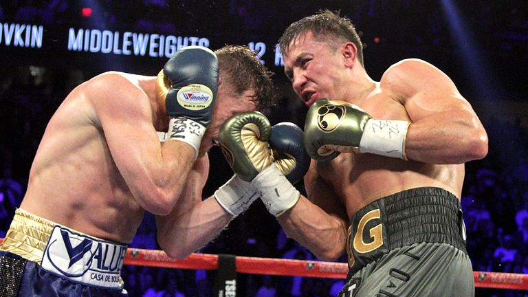 Golovkin hopes to display his fearsome power in the second fight