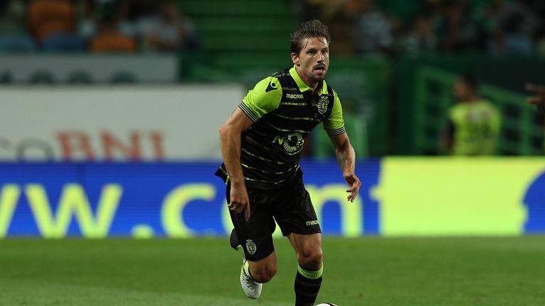 Sporting CP midfielder Adrien Silva