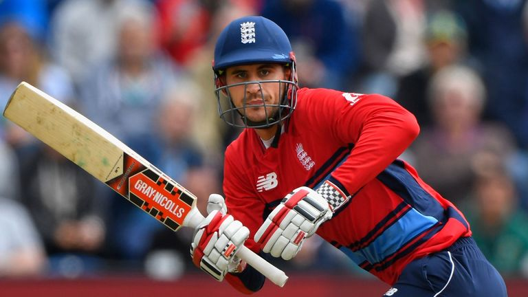 Is Alex Hales a middle-order option for England?