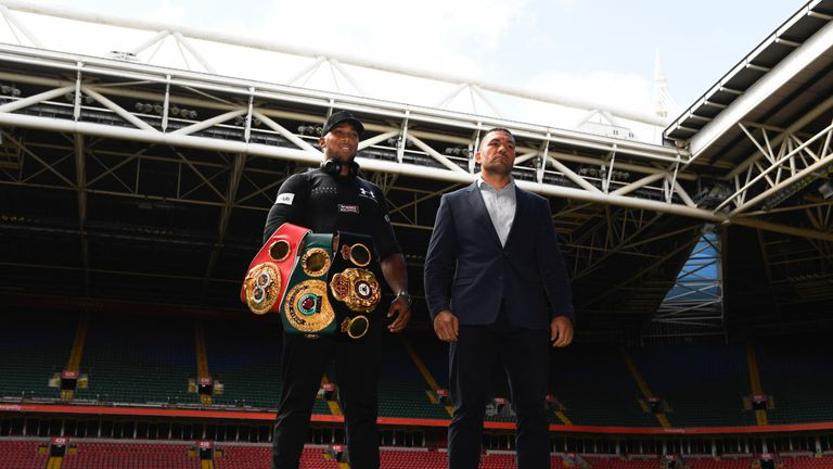 Pulev withdrew injured from fighting Joshua in 2017