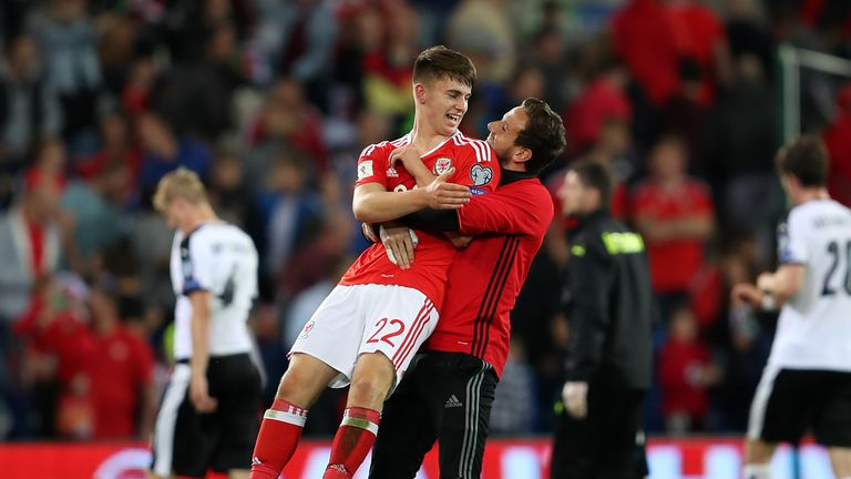 Ben Woodburn has won seven caps for Wales so far