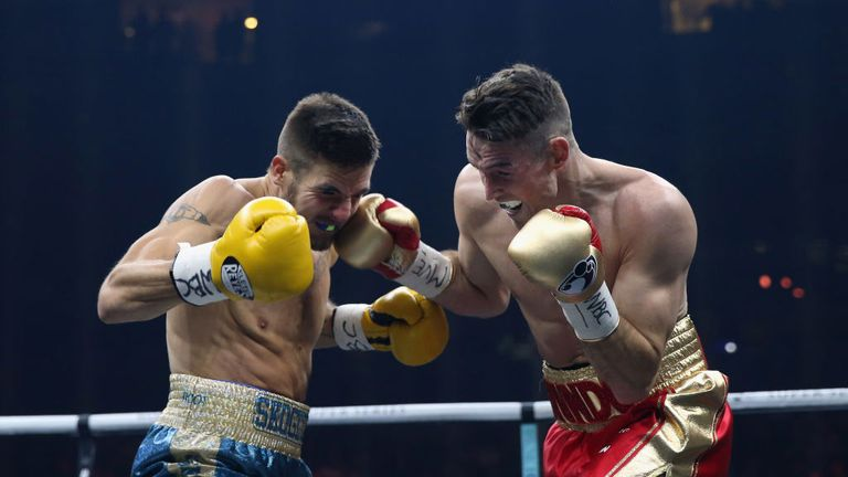 Callum Smith showed his class with a unanimous decision win over Erik Skoglund