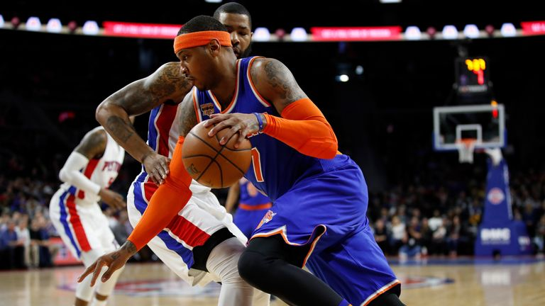 Carmelo Anthony will be an Oklahoma City Thunder player when the 2017-18 season gets underway