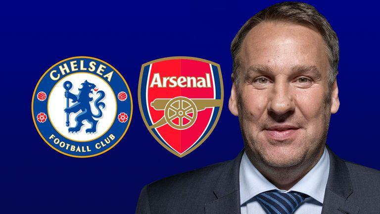 Merson's Chelsea v Arsenal XI