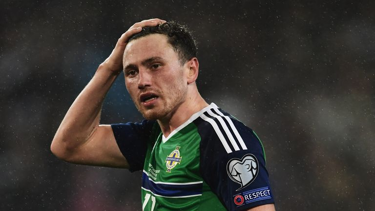 Corry Evans could come into the Northern Ireland side against Czech Republic on Monday