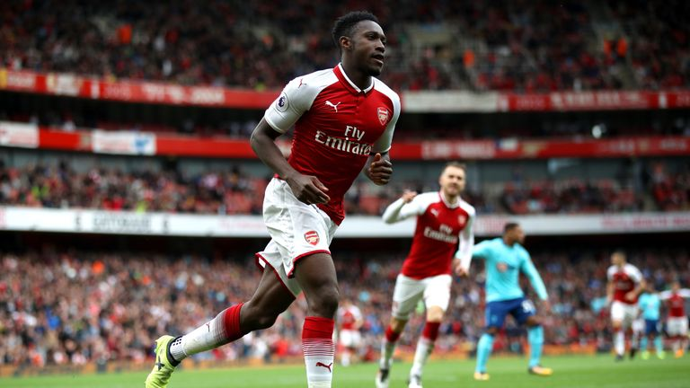 Danny Welbeck was injured last weekend and will not feature on Sunday