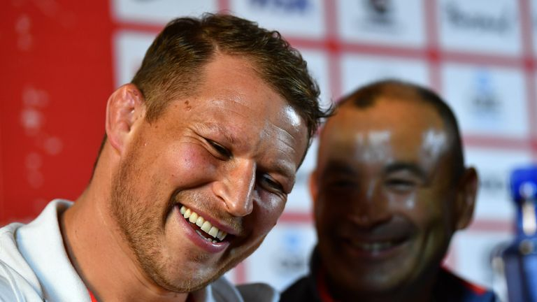 Eddie Jones and Hartley enjoyed a strong working relationship, as the Australian coach made the hooker his captain