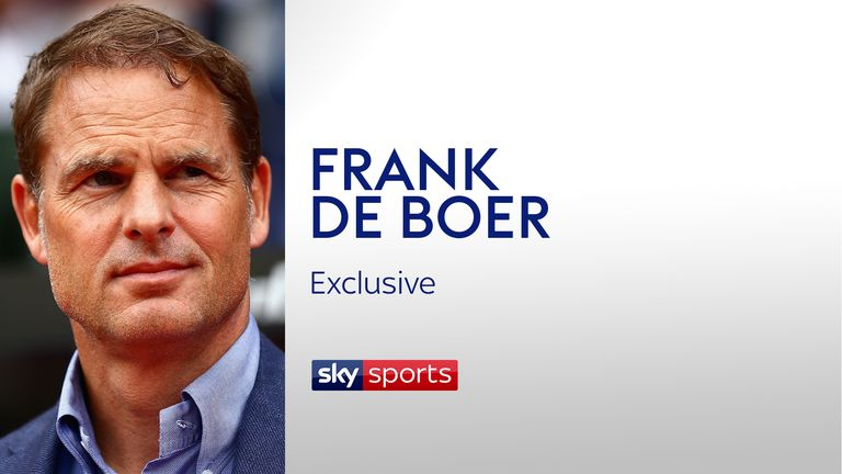 Frank de Boer tells Sky Sports he is determined to finish the project he has started at Crystal Palace