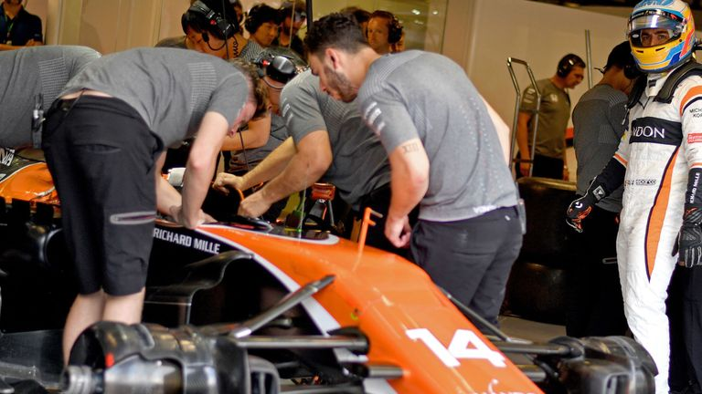 McLaren-Honda have racked up 270 places worth of grid penalties in 2017 for engine component and gearbox changes