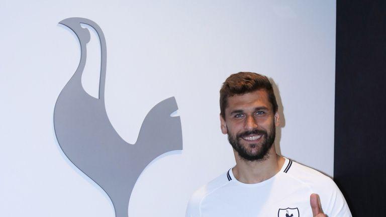 Tottenham Hotspur unveil new signing Fernando Llorente