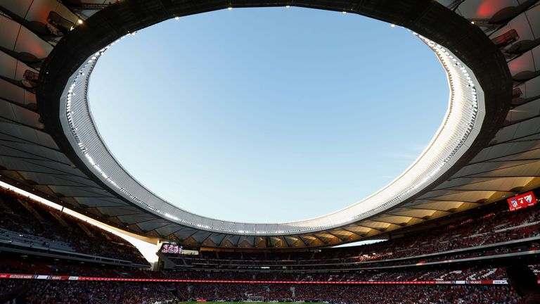 The Champions League final will take place at the Wanda Metropolitano stadium